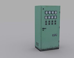 3D model game-ready Electrical Panel