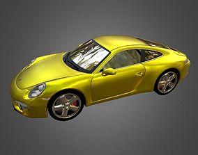 The Porsche 991 Obj Dae Collada Fbx 3Ds 3D low-poly 2