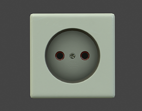 Electrical Outlet 3D asset