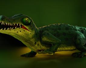 3D asset Little Lizard