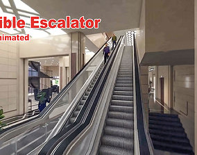 Flexible Escalator flexible 3D