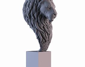 3D print model Lion Statue african
