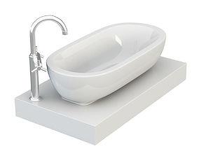 Washbasins 3D model
