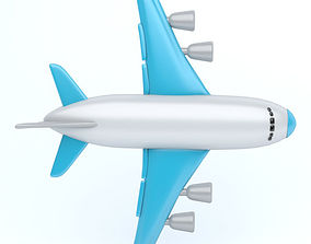 ICON AIRPLANE 3D model