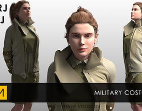 3D Military costume