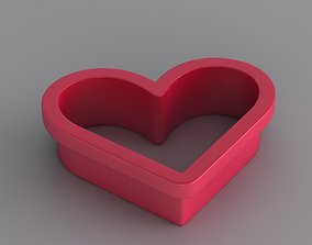 3D print model Heart Toast Pastry Cutter