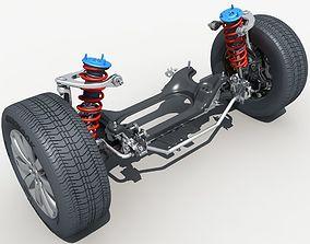 Car Suspension 01 3D