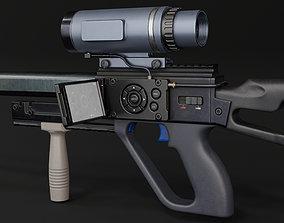 SNIPER RIFLE SVG26 3D asset