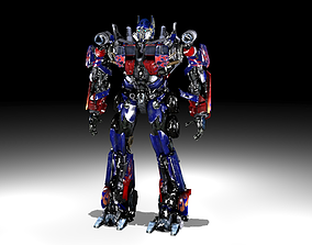 Optimus Prime from Transformers movies 3D model