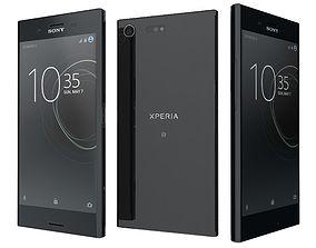 Sony Xperia XZ Premium Deepsea Black 3D model