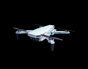 Drone Quadcopter 3D asset VR / AR ready