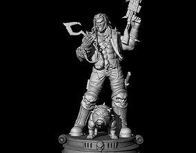3D printable model Fan Art - Lobo and Dawg