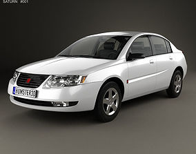 3D model Saturn Ion 2004