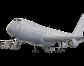 Boeing 747-400 Easy Custimization- 3D model realtime