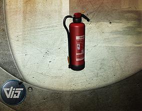 3D asset Fire fighting props