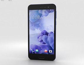 HTC U Play Sapphire Blue 3D