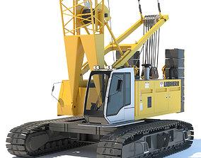 3D Liebherr Crawler Crane LR 1100 fbx