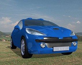Sport Car Max and Unity 3D asset