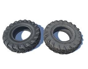 3D asset Big Wheels