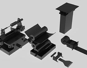 3D machine printer part