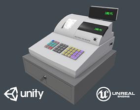 3D model Game Ready Cash Register