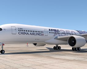 CHINA AIRLINES A350 3D model