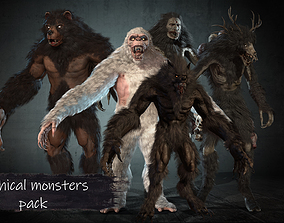 Mithical monsters collection pack1 3D model