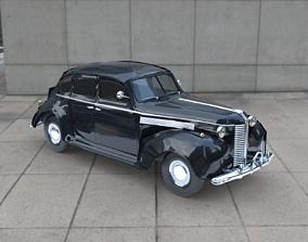 3D asset VR / AR ready 1938 BUICK Special 4 Door Sedan
