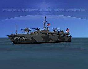 3D model Elco PT Boat PT-139