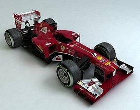 3D asset realtime 2013 Formula 1 Ferrari F138