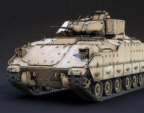 3D model M2A2 Bradley