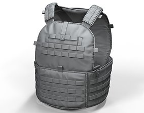 3D Zbrush Tactical Military Vest