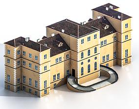 Villa della Regina 3D model VR / AR ready