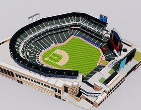 Citi Field - New York Mets Baseball Stadium 3D model