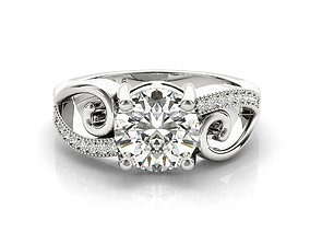 jewellery 3dm files free download 6 prong engagement ring