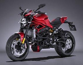 Ducati Monster 1200R 2017 3D