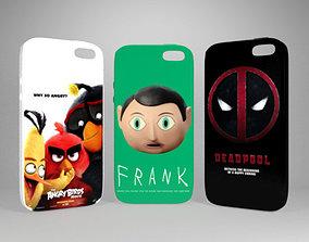 iPhone Cases 3D asset