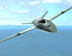 3D model MQ-25 Stingray