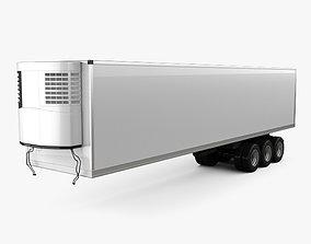 Generic Refrigerator Semi Trailer 2006 3D