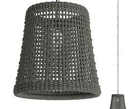 BRUNSWICK OUTDOOR PENDANT CONE 3D asset