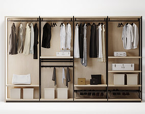 grille wardrobe clothes 3D