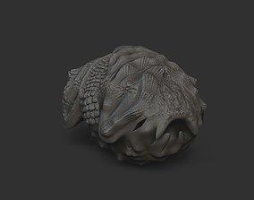 makuta bone 3D printable model