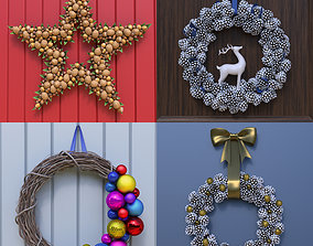 Wreath Collection 3D model