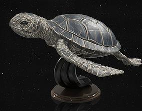 resolution 3D print model Turtle