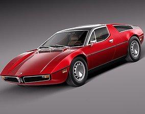 3D Maserati Bora 1971-1978
