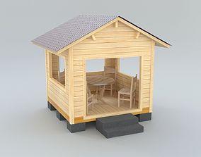 Arbor kiosk 3D model