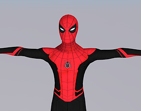 Spider-Man Far From Home 3D model animated