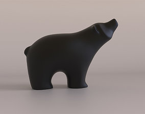 3D printable model Bear figurine sculptures