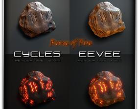 3D asset Rune of Fire