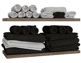 3D model Towel set 2